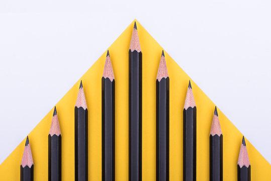 Black pencils