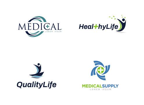 Medical Healthy Logo Collection