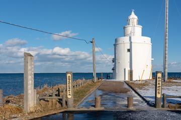 納沙布岬灯台の景色
