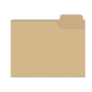Isolated file folder vector illustration