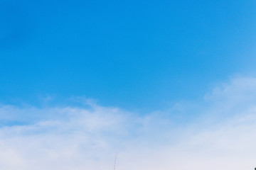 wallpaper of blue sky with clouds Background