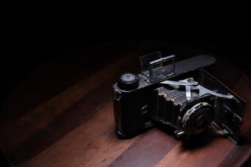 maquina fotografica antigua