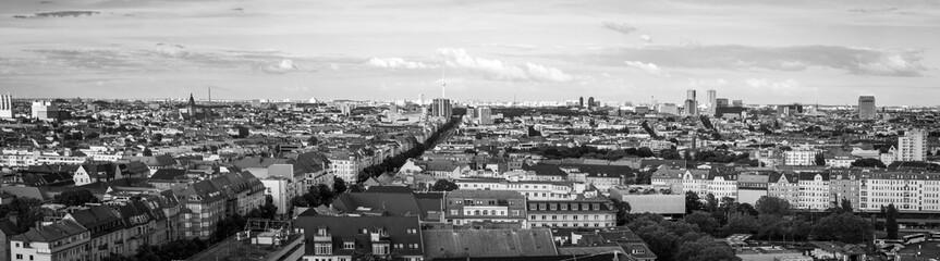 Panorma of the skyline in Berlin
