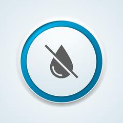 Waterresist Waterproof sign button illustration