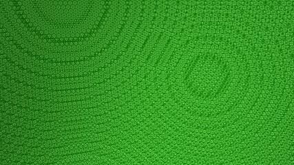 Green bump texture background technology