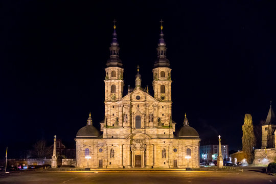 The Fulda Cathedral (German: Fuldaer Dom, also Sankt Salvator) has been the cathedral of the Diocese of Fulda since 1752. The cathedral is the most prominent part of the Baroque district of Fulda.