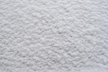 White snow texture for background image. Winter .