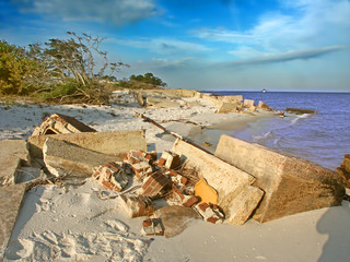 Wall Mural - Gulf Islands National Seashore Scenery