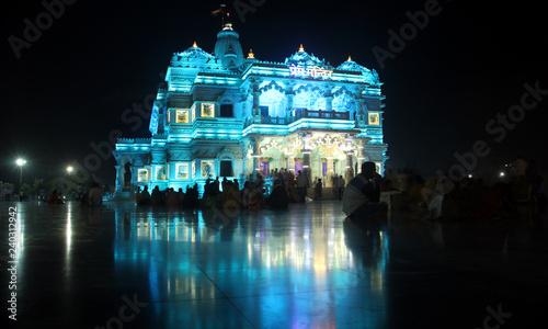Prem Mandir Is The Temple Of Divine Love Dedicated To Radha Krishna
