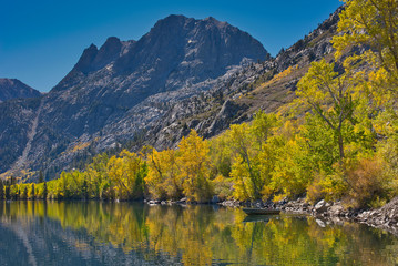 June lake, Fall color in Eastern Sierra