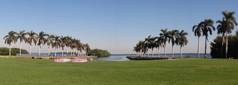 View at the Deering Estate - Wedding