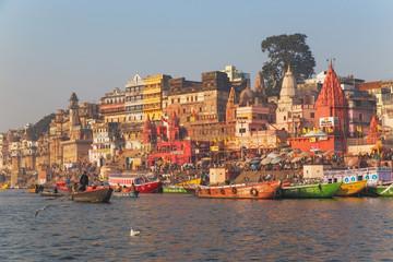 Poster India Varanasi city, India