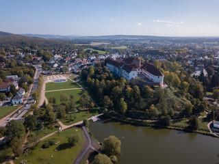 Schloss Bad Iburg und Charlottensee