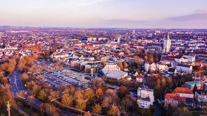 Paderborn in Deutschland Luftaufnahme