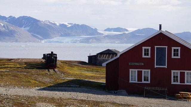 Ny-Alesund auf Spitzbergen