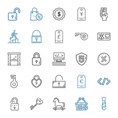 code icons set