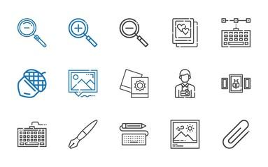 macro icons set