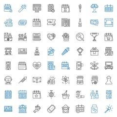 event icons set