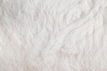 White flufy textile close-up. Fototapete