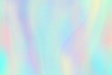 Rainbow texture. Hologram foil iridescent background. Pastel fantasy unicorn vector pattern. Illustration of iridescent pattern rainbow, hologram texture