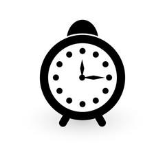 Alarm clock icon, flat style. Vector - Vector