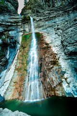 Waterfall of Sorrosal.Huesca