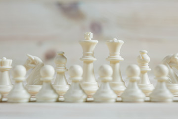 Chess figure, business concept strategy