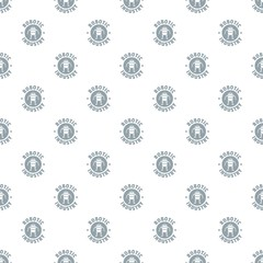 Robot machine pattern vector seamless repeat for any web design