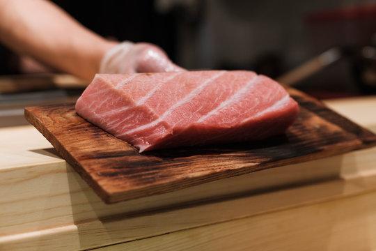 Slab of Tuna Belly
