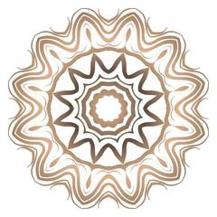 Mandala pattern. Traditional indian mandala. Orient tribal circle sign illustration. Vector illustration.