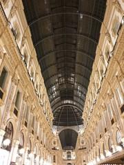 Galleria Vittorio Emanuele di notte