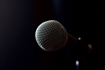 on stage microphone