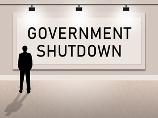 Government Shutdown Notice Means America Closed By Senate Or President