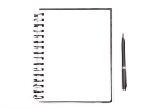 Notepad and a pen