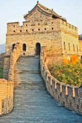 The fortress tower Plot Mutianyu Great Wall