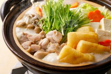 豆乳鍋 Soy milk soup hot pot