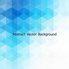 Vector Abstract blue hexagons background. eps 10 layout for advertising