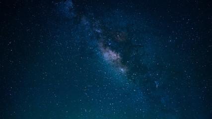 Sparkling Star At Night Sky Background