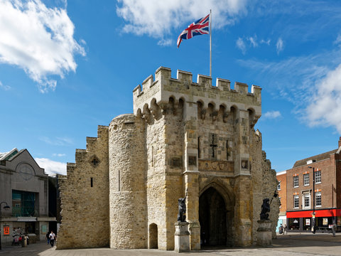 England - Southampton - Stadtmauer - Stadttor