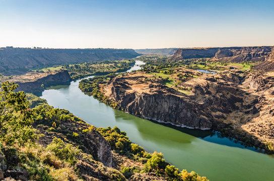 Snake River Canyon bei Twin Falls Idaho USA