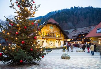 Weihnachtlicht im Hochschwarzwald