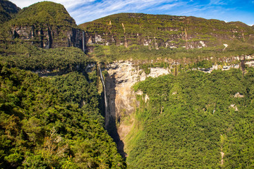Cammino alla cascata di Gocta, 771 m, Chachapoyas, Perù