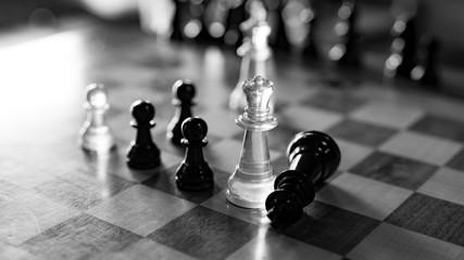 Checkmate Black & White II
