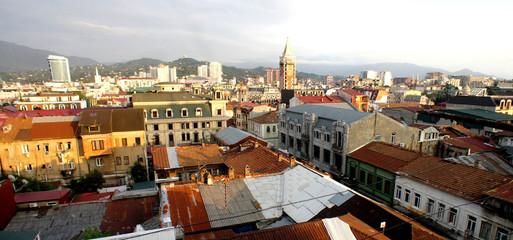 Beautiful view of the city of Batumi