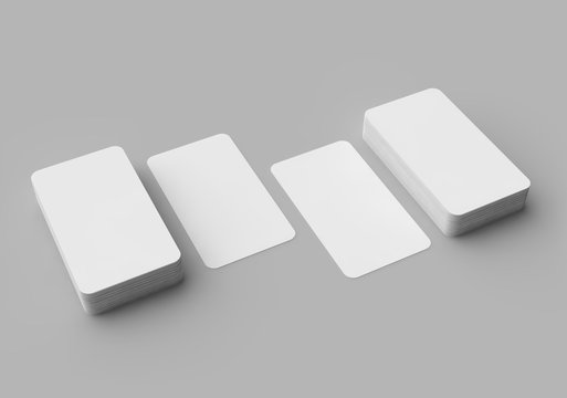 Businnes Cardst, Blank Template for Corporate Identity