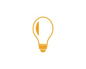 light bulb symbol icon