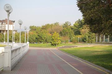город курорт Геленджик зимой пейзаж