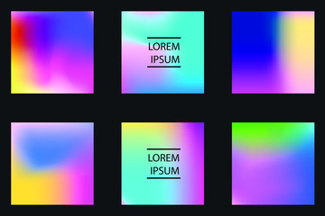 Vector EPS 10 illustration Gradient Background Texture. Template for design, banner, flyer, business card, poster, wallpaper, brochure, smartphone screen, mobile app.