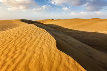 Wall Mural - Sand dunes in desert
