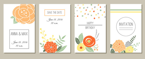 Greeting card, invitation or banner